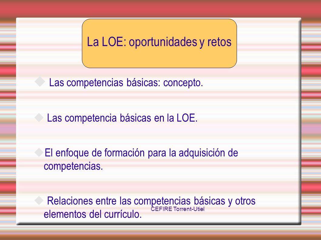 La LOE: oportunidades y retos