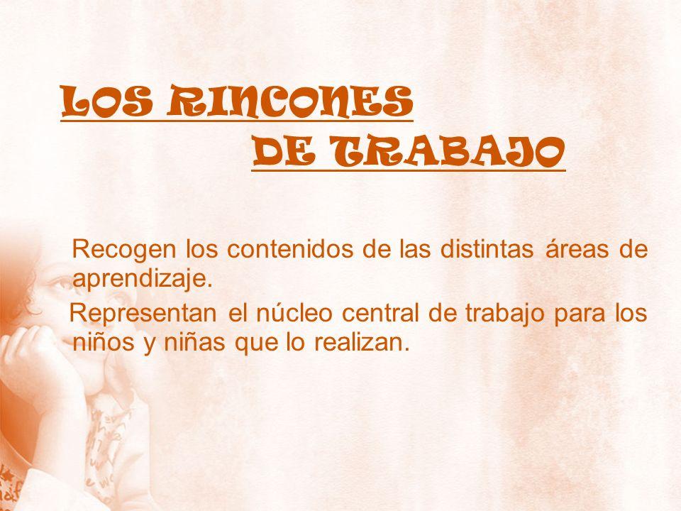DE TRABAJO LOS RINCONES