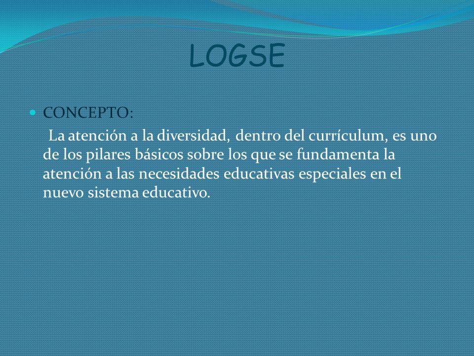 LOGSE CONCEPTO: