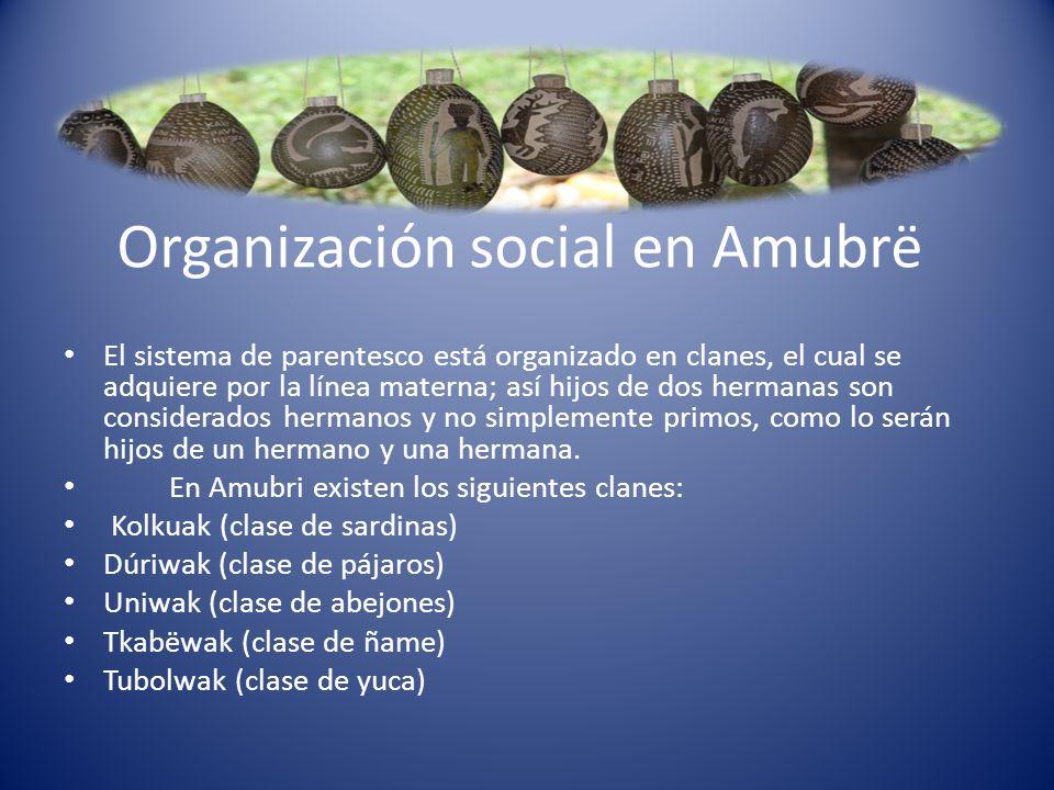 Organización social en Amubrë
