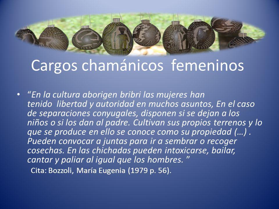 Cargos chamánicos femeninos