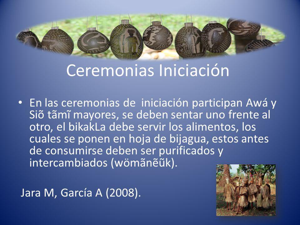 Ceremonias Iniciación