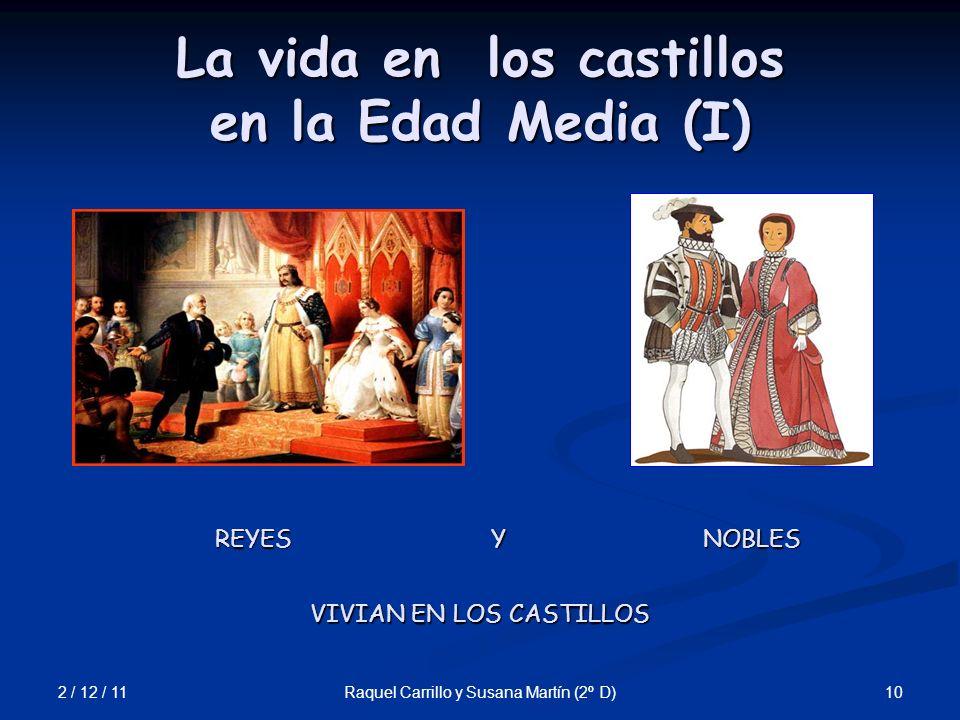 La vida en los castillos en la Edad Media (I)