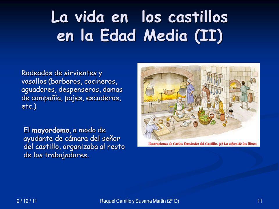 La vida en los castillos en la Edad Media (II)