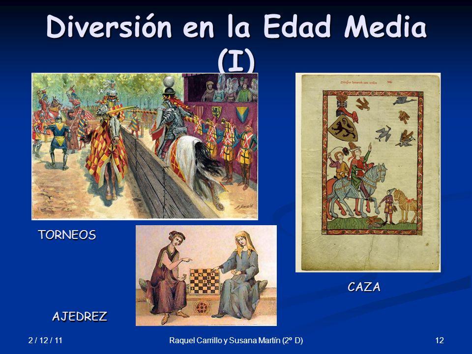 Diversión en la Edad Media (I)