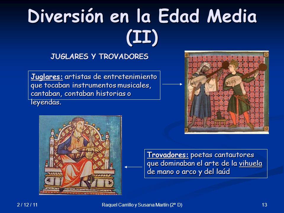 Diversión en la Edad Media (II)