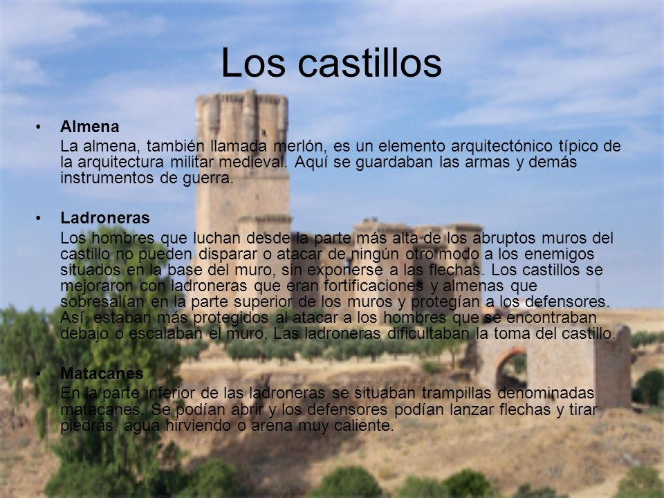 Los castillos Almena.