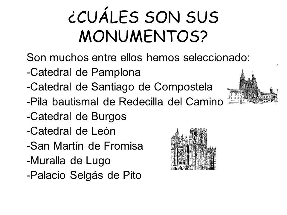 ¿CUÁLES SON SUS MONUMENTOS
