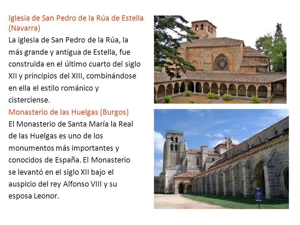 Iglesia de San Pedro de la Rúa de Estella (Navarra)