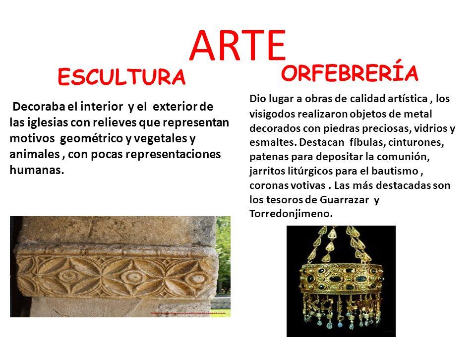 ARTE ESCULTURA ORFEBRERÍA
