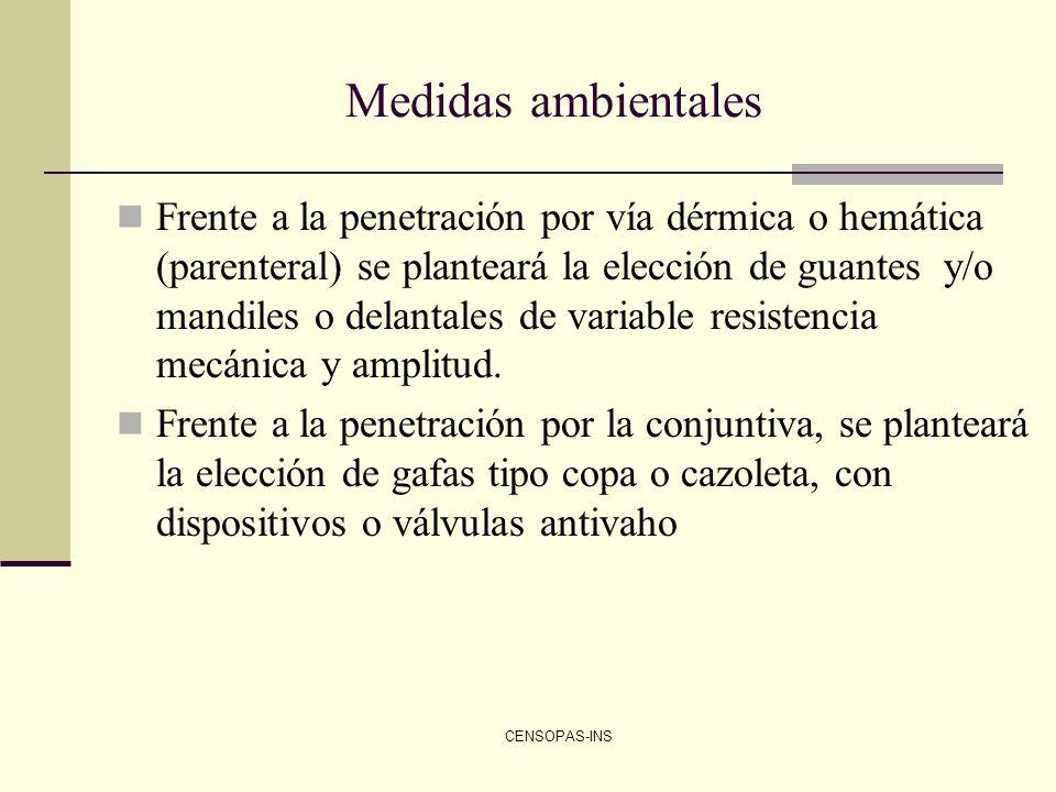 Medidas ambientales