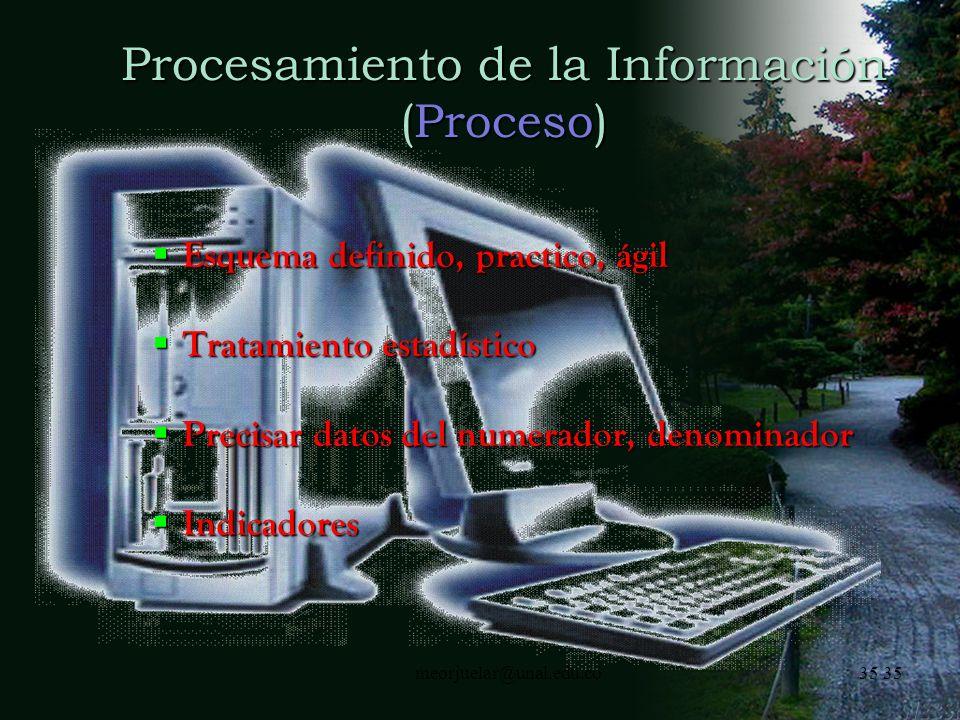 Procesamiento de la Información