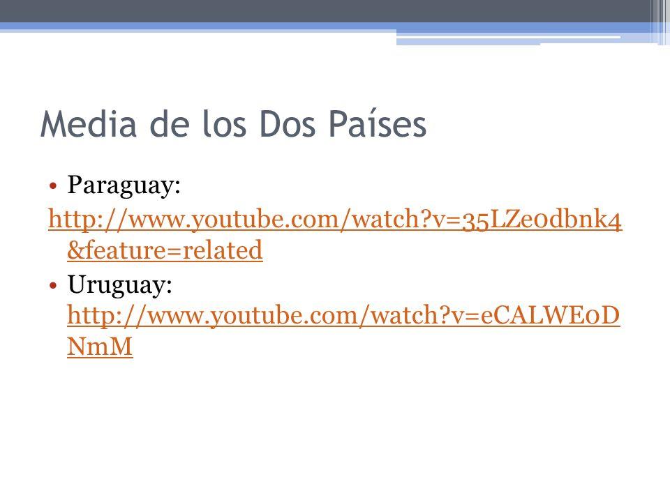 Media de los Dos Países Paraguay: