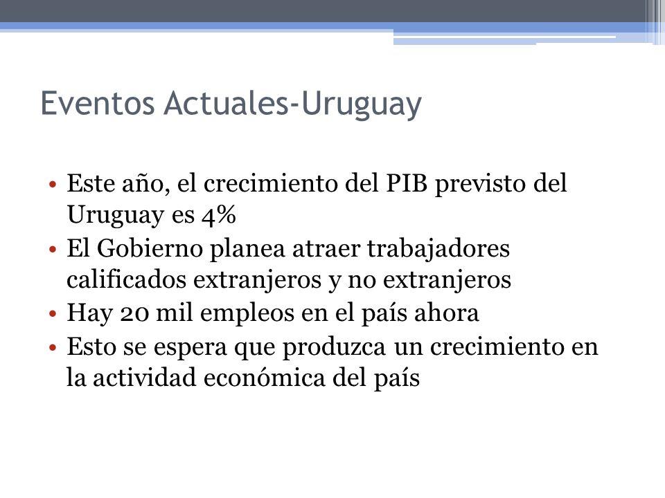 Eventos Actuales-Uruguay