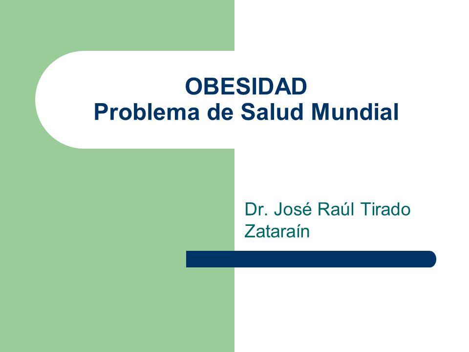 OBESIDAD Problema de Salud Mundial