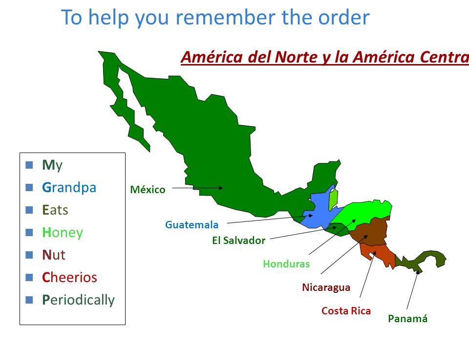 América del Norte y la América Central