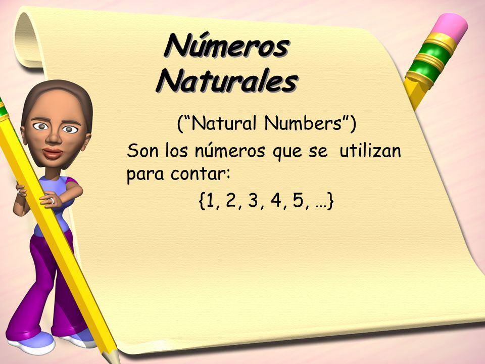 Números Naturales ( Natural Numbers )