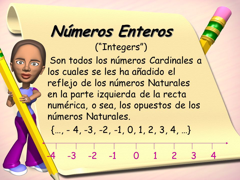 Números Enteros ( Integers )