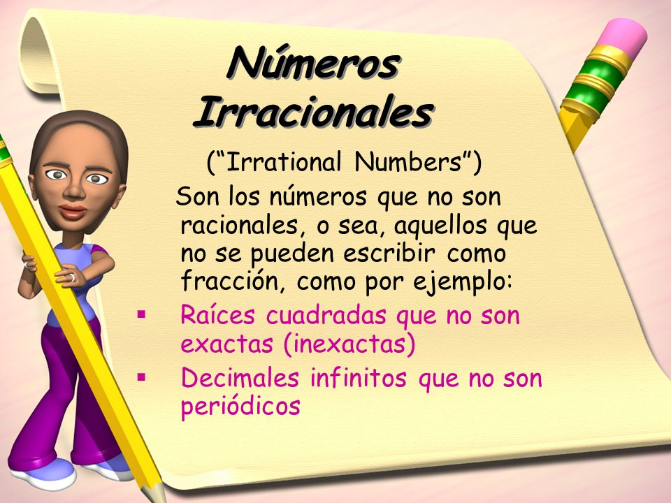 ( Irrational Numbers )