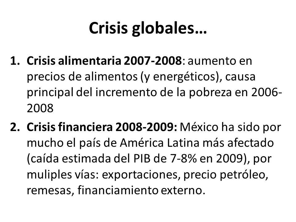 Crisis globales…