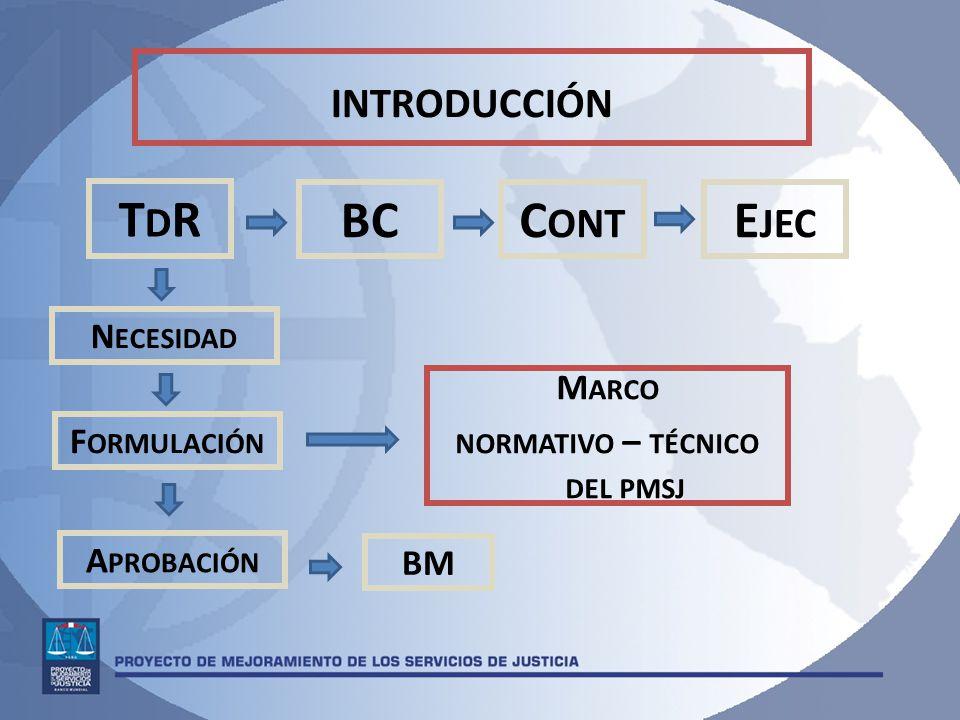 normativo – técnico del pmsj