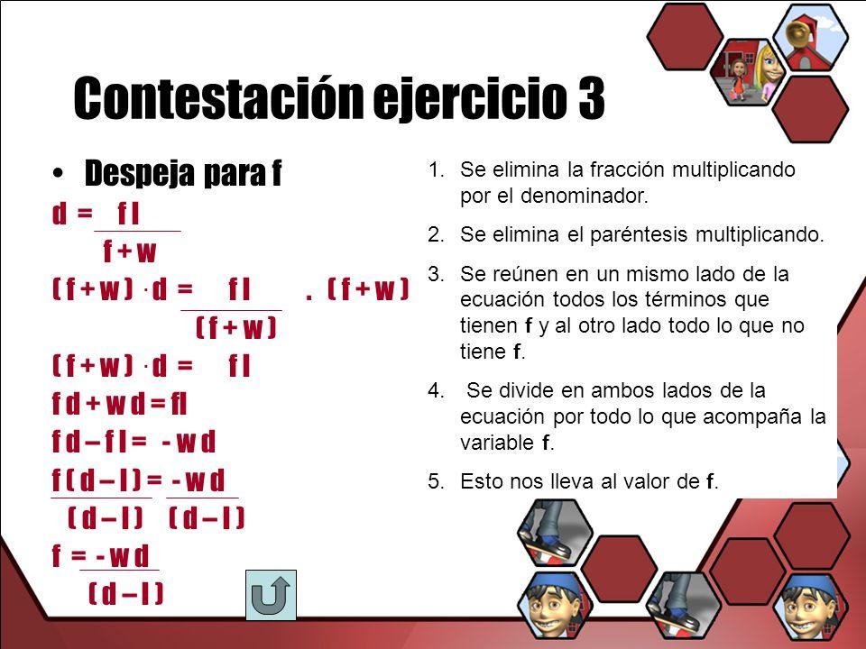 Contestación ejercicio 3