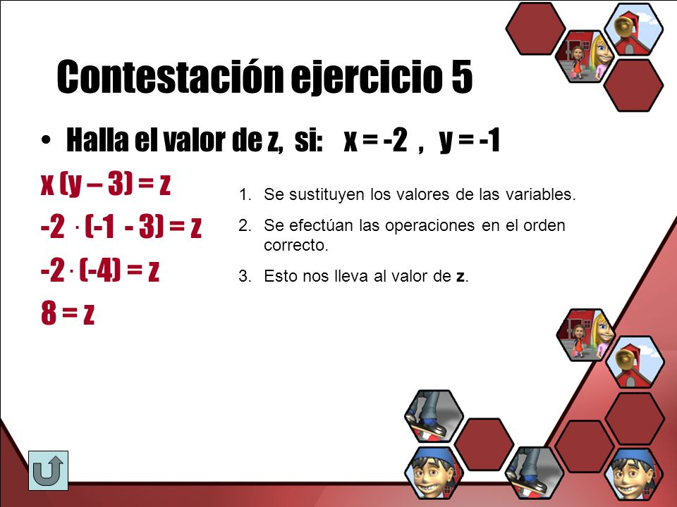 Contestación ejercicio 5