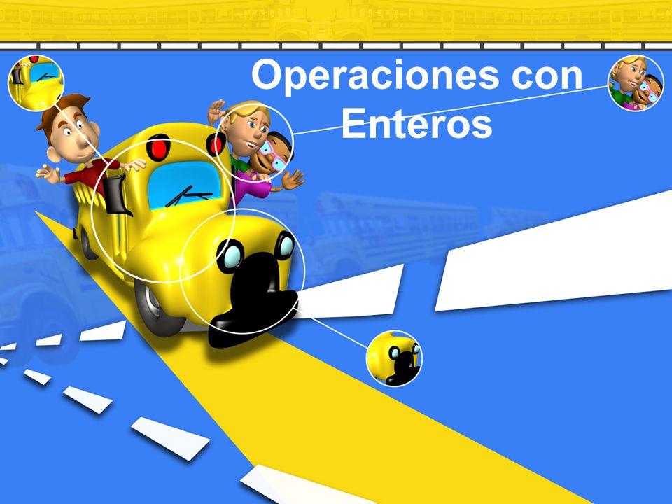 Operaciones con Enteros