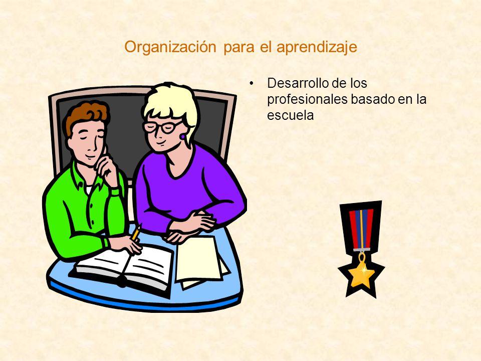 Organización para el aprendizaje