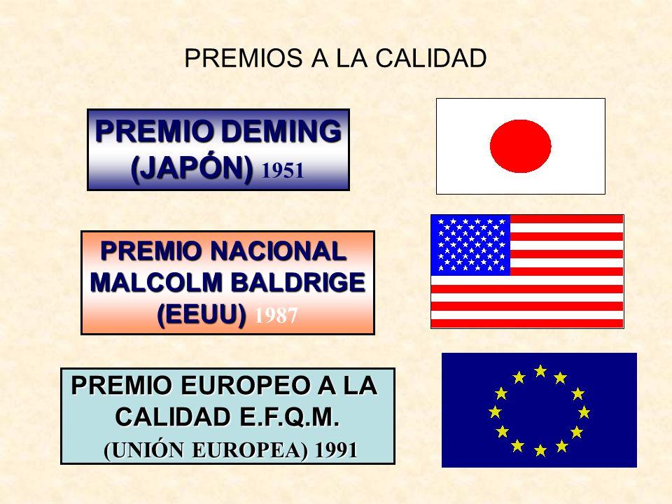 PREMIO DEMING (JAPÓN) 1951 PREMIOS A LA CALIDAD PREMIO NACIONAL