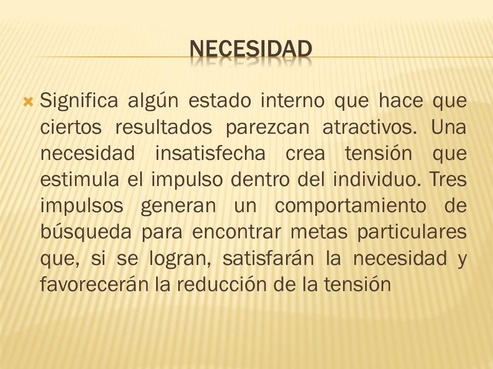 Necesidad