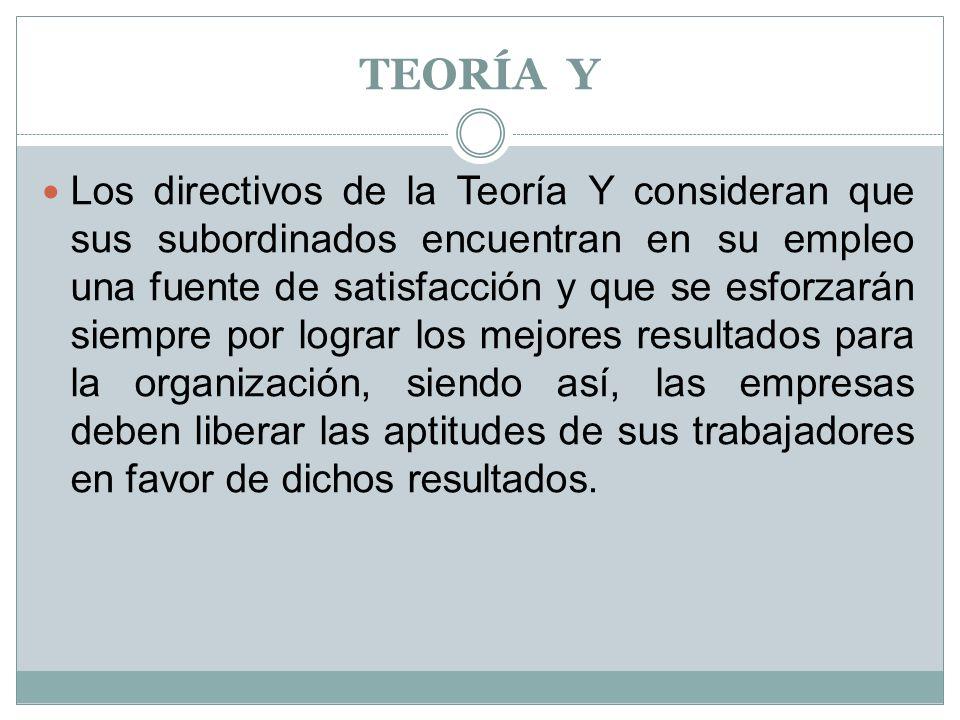TEORÍA Y