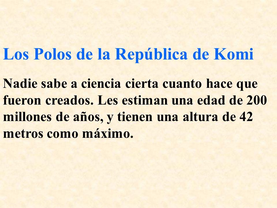 Los Polos de la República de Komi