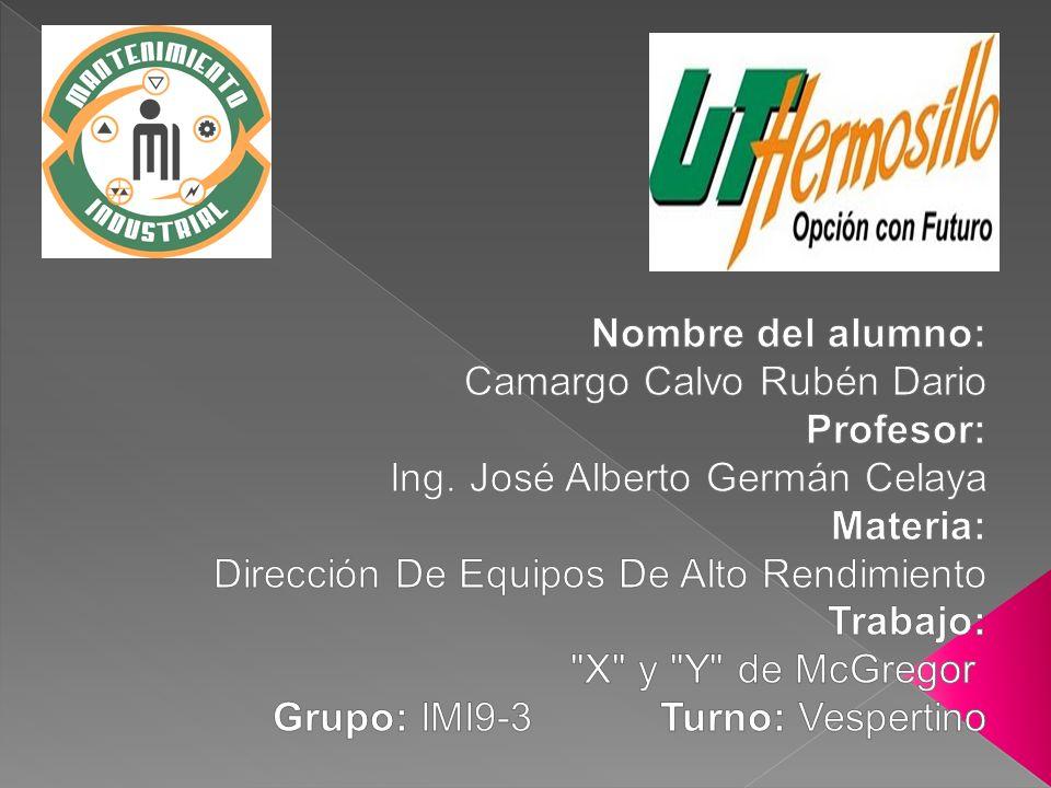 Nombre del alumno: Camargo Calvo Rubén Dario. Profesor: Ing. José Alberto Germán Celaya. Materia: