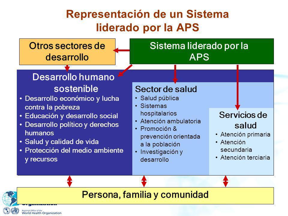 Representación de un Sistema liderado por la APS