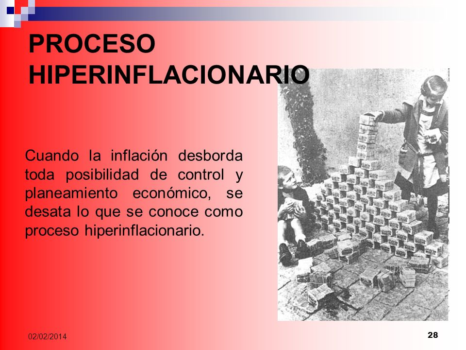 PROCESO HIPERINFLACIONARIO