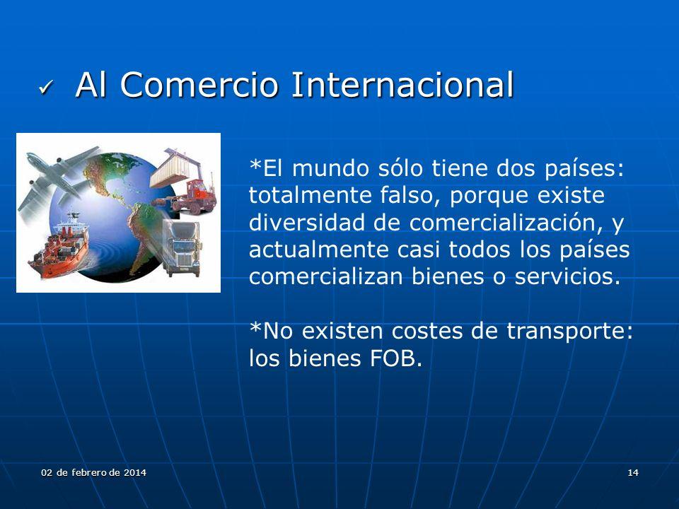 Al Comercio Internacional