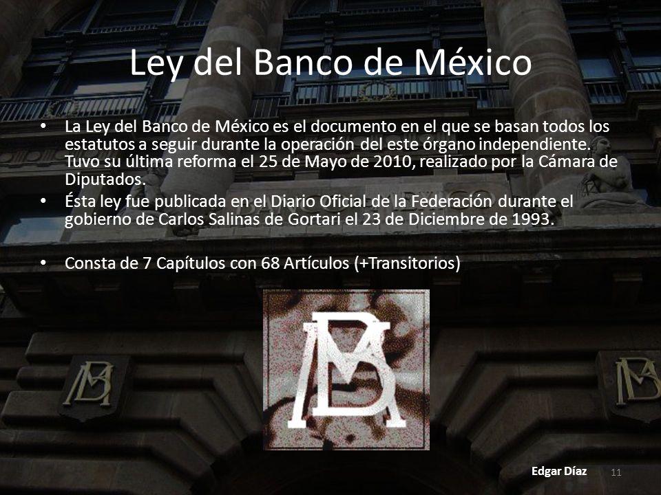 Ley del Banco de México