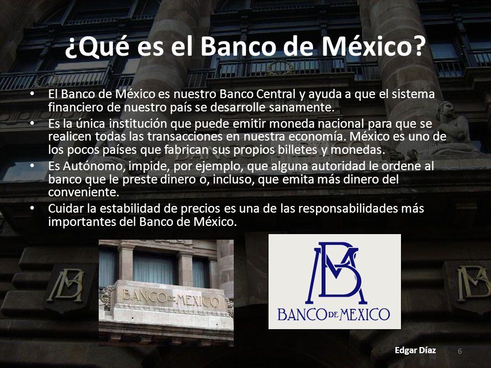 ¿Qué es el Banco de México