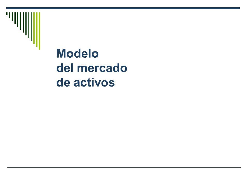Modelo del mercado de activos