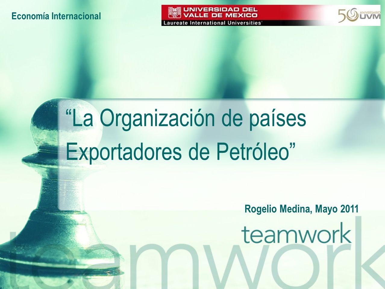 La Organización de países Exportadores de Petróleo