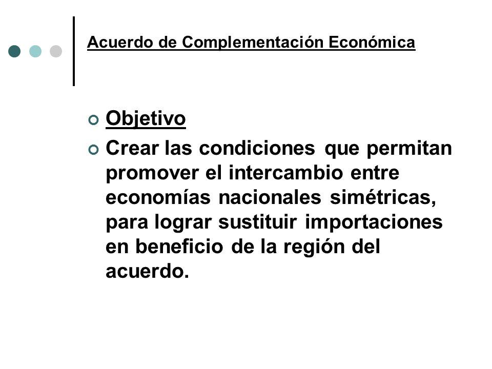 Acuerdo de Complementación Económica