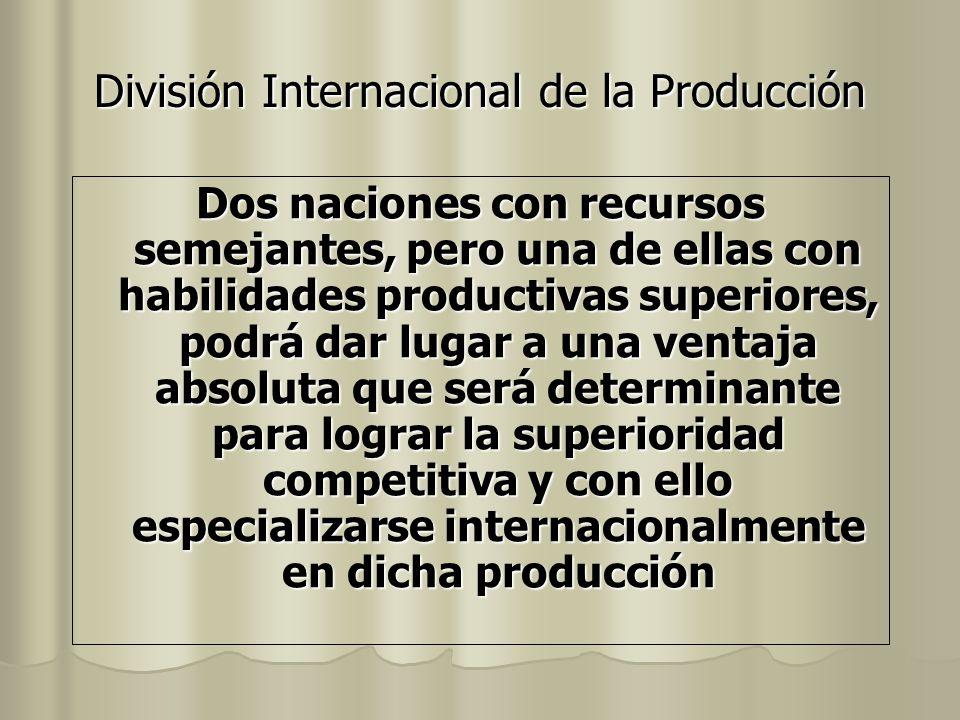 División Internacional de la Producción