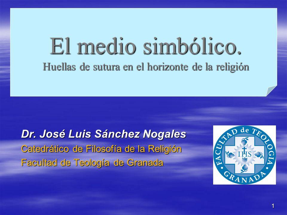 El medio simbólico. Huellas de sutura en el horizonte de la religión