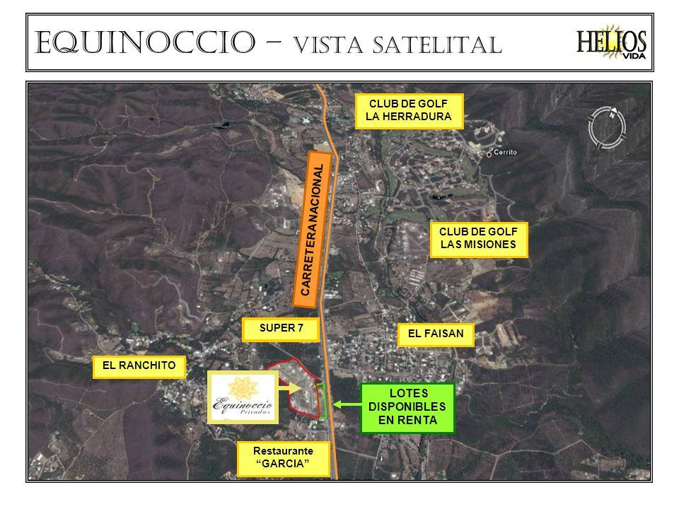 Helios VIDA Equinoccio – VISTA SATELITAL CARRETERA NACIONAL
