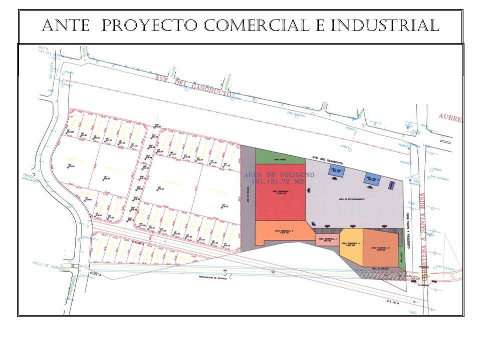 ante proyecto comercial e industrial