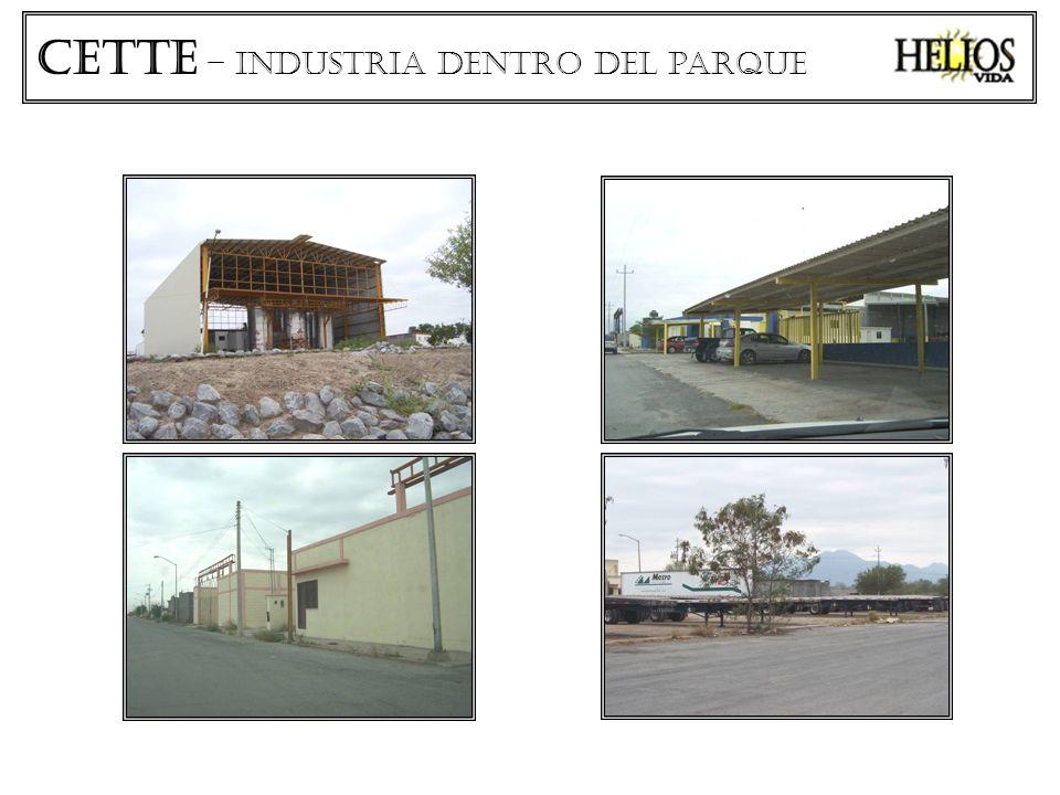 CETTe – industria dentro del parque