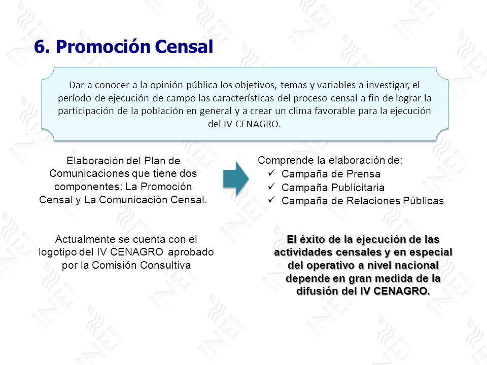 6. Promoción Censal