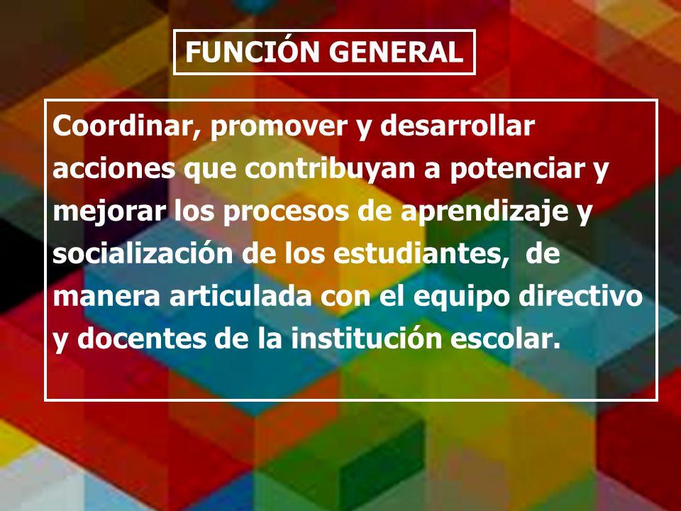 FUNCIÓN GENERAL