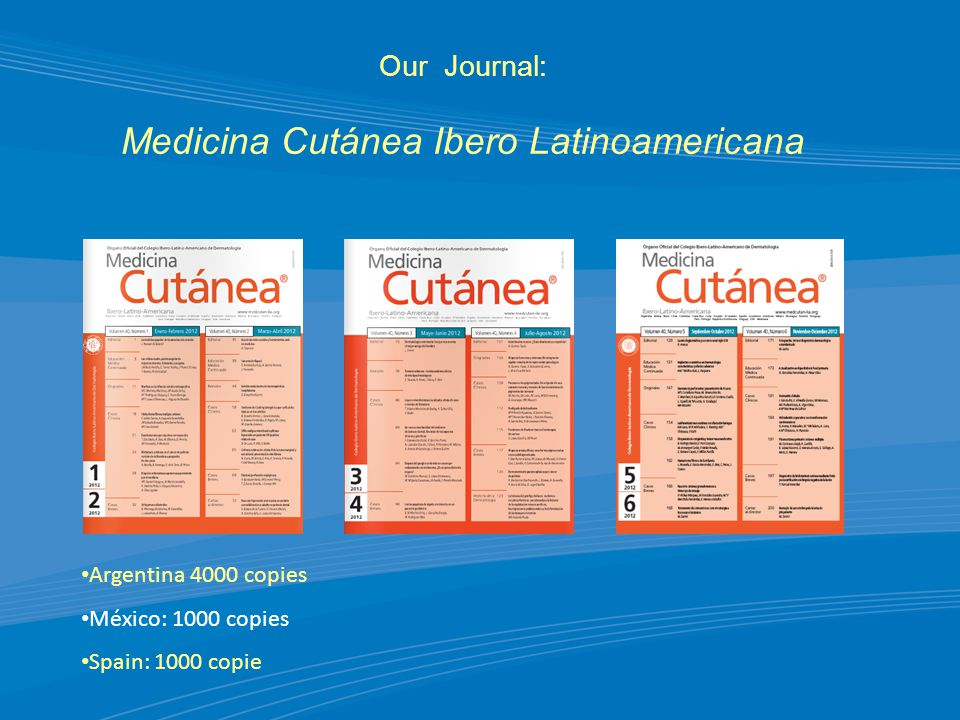 Our Journal: Medicina Cutánea Ibero Latinoamericana